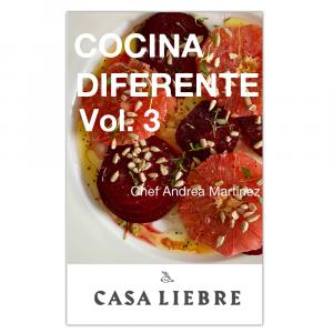 Recetario Digital – Cocina Diferente Vol. 3
