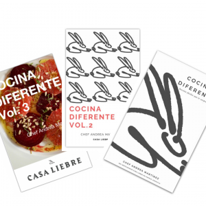 Paquete Recetarios- Cocina Diferente Vols. 1-3